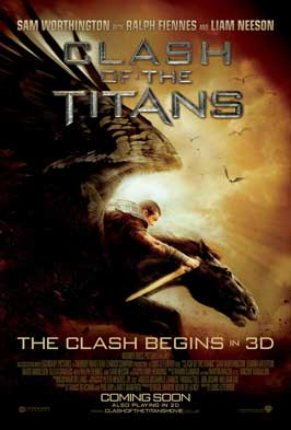 Clash of the Titans - 43 x 62 Movie Poster - UK Style A