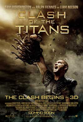 Clash of the Titans - 27 x 40 Movie Poster - UK Style B