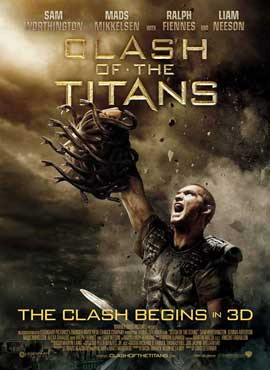Clash of the Titans - 27 x 40 Movie Poster - Danish Style A