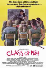 Class of 1984 - 11 x 17 Movie Poster - Style B