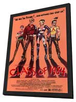 Class of 1984 - 11 x 17 Movie Poster - Style A - in Deluxe Wood Frame