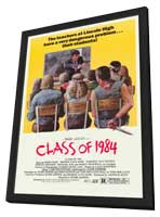 Class of 1984 - 27 x 40 Movie Poster - Style B - in Deluxe Wood Frame