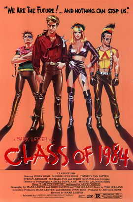 Class of 1984 - 11 x 17 Movie Poster - Style A