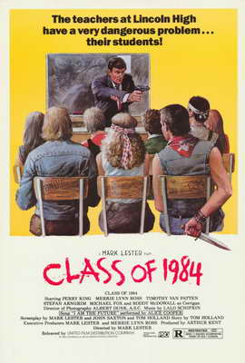 Class of 1984 - 27 x 40 Movie Poster - Style B