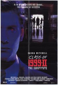 Class of 1999 2: The Substitute - 11 x 17 Movie Poster - Style A