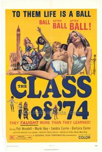 Class of 74 - 27 x 40 Movie Poster - Style A