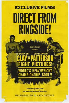 Clay Vs. Patterson - 11 x 17 Movie Poster - Style A
