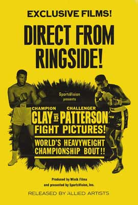 Clay Vs. Patterson - 27 x 40 Movie Poster - Style A