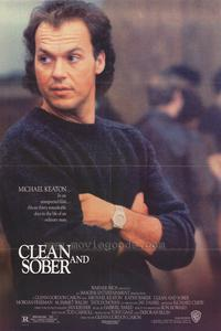 Clean and Sober - 43 x 62 Movie Poster - Bus Shelter Style A