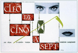 Cleo from 5 to 7 - 27 x 40 Movie Poster - French Style A