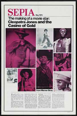 Cleopatra Jones & the Casino of Gold - 27 x 40 Movie Poster - Style B