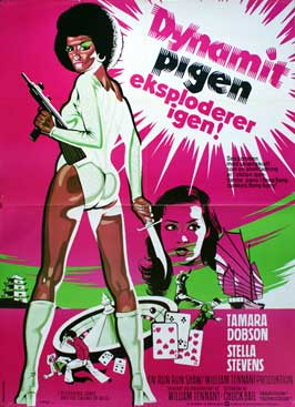 Cleopatra Jones & the Casino of Gold - 11 x 17 Movie Poster - Danish Style A