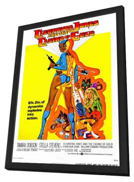 Cleopatra Jones & the Casino of Gold - 11 x 17 Movie Poster - Style A - in Deluxe Wood Frame