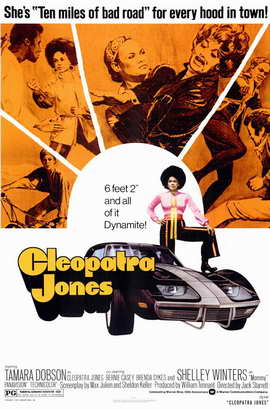 Cleopatra Jones - 11 x 17 Movie Poster - Style A