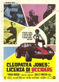 Cleopatra Jones - 39 x 55 Movie Poster - Italian Style A