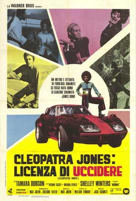 Cleopatra Jones - 27 x 40 Movie Poster - Italian Style A
