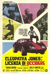 Cleopatra Jones - 11 x 17 Movie Poster - Italian Style A