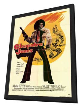 Cleopatra Jones - 11 x 17 Movie Poster - Style B - in Deluxe Wood Frame