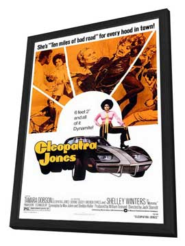 Cleopatra Jones - 27 x 40 Movie Poster - Style A - in Deluxe Wood Frame