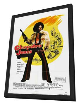Cleopatra Jones - 27 x 40 Movie Poster - Style B - in Deluxe Wood Frame