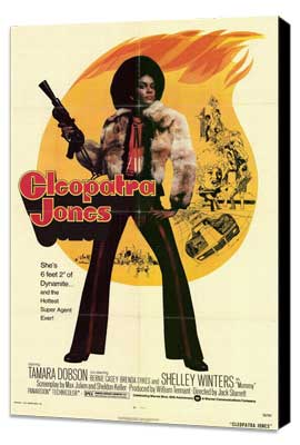 Cleopatra Jones - 11 x 17 Movie Poster - Style B - Museum Wrapped Canvas