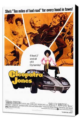 Cleopatra Jones - 27 x 40 Movie Poster - Style A - Museum Wrapped Canvas