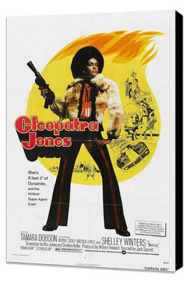 Cleopatra Jones - 27 x 40 Movie Poster - Style B - Museum Wrapped Canvas