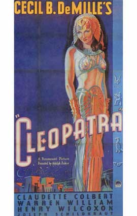 Cleopatra - 11 x 17 Movie Poster - Style C
