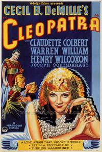 Cleopatra - 43 x 62 Movie Poster - Bus Shelter Style A
