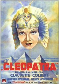 Cleopatra - 43 x 62 Movie Poster - German Style A