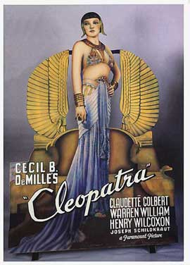 Cleopatra - 11 x 17 Movie Poster - Style D