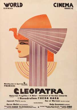 Cleopatra - 11 x 17 Movie Poster - Swedish Style A