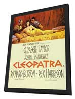 Cleopatra - 11 x 17 Movie Poster - Style B - in Deluxe Wood Frame