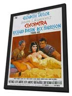 Cleopatra - 11 x 17 Movie Poster - Style F - in Deluxe Wood Frame