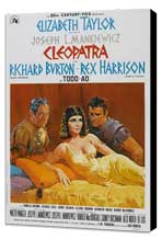 Cleopatra - 11 x 17 Movie Poster - Style F - Museum Wrapped Canvas