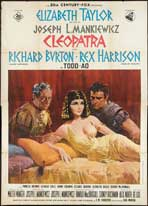 Cleopatra - 27 x 40 Movie Poster - Italian Style B