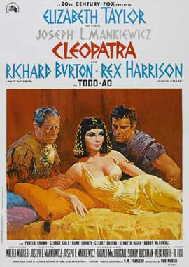 Cleopatra - 11 x 17 Movie Poster - Style F