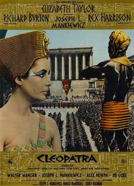 Cleopatra - 11 x 17 Movie Poster - Italian Style A