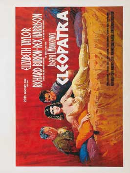 Cleopatra - 27 x 40 Movie Poster - Belgian Style A