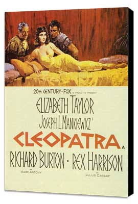 Cleopatra - 11 x 17 Movie Poster - Style B - Museum Wrapped Canvas