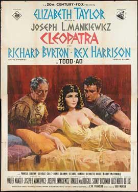 Cleopatra - 27 x 40 Movie Poster - Italian Style B