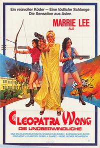 Cleopatra Wong - 11 x 17 Movie Poster - German Style A