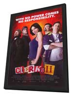 Clerks II - 11 x 17 Movie Poster - Style A - in Deluxe Wood Frame