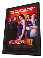 Clerks II - 27 x 40 Movie Poster - Style A - in Deluxe Wood Frame