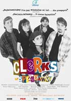 Clerks - 43 x 62 Movie Poster - Polish Style A