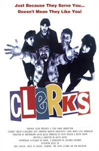 Clerks - 13 x 28 Movie Poster - Italian Style A