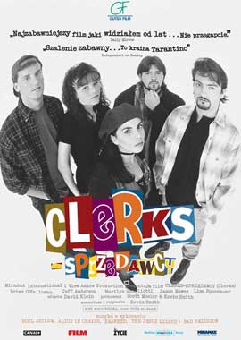 Clerks - 27 x 40 Movie Poster - Polish Style A