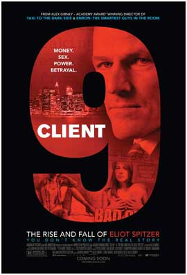 Client 9: The Rise and Fall of Eliot Spitzer - 27 x 40 Movie Poster - Style A