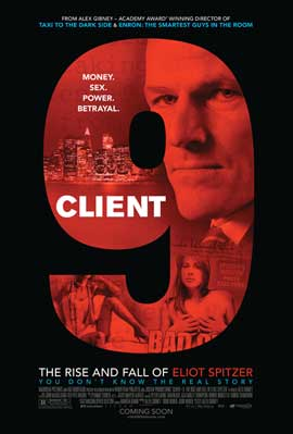 Client 9: The Rise and Fall of Eliot Spitzer - 43 x 62 Movie Poster - Bus Shelter Style A