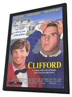 Clifford - 11 x 17 Movie Poster - Style B - in Deluxe Wood Frame